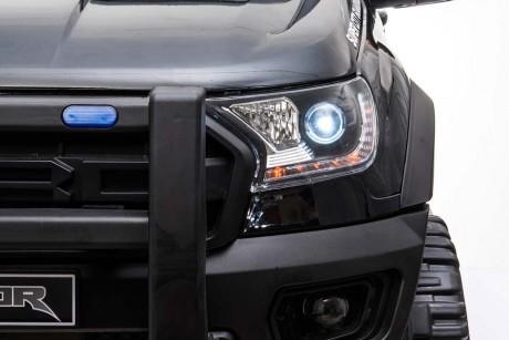 Licensed Ford Ranger Police RAPTOR Painted Black 12Volt In Stock-35