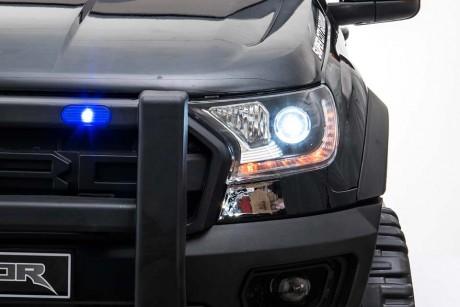 Licensed Ford Ranger Police RAPTOR Painted Black 12Volt In Stock-37