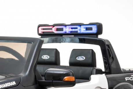 Licensed Ford Ranger Police RAPTOR Painted Black 12Volt In Stock-41