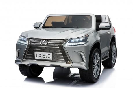 Pre- Order licensed Lexus LX- 570 Metallic Silver 18/12/19 -1