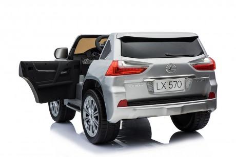 Pre- Order licensed Lexus LX- 570 Metallic Silver 18/12/19 -12