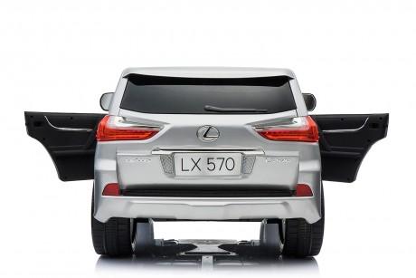 Pre- Order licensed Lexus LX- 570 Metallic Silver 18/12/19 -11