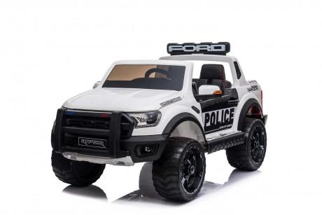 Licensed Ford Ranger Police RAPTOR Painted White 12Volt In Stock-4