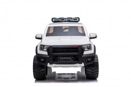 Licensed Ford Ranger Police RAPTOR Painted White 12Volt In Stock-6