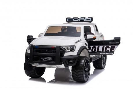 Licensed Ford Ranger Police RAPTOR Painted White 12Volt In Stock-1