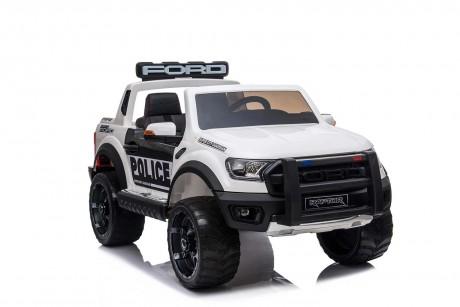 Licensed Ford Ranger Police RAPTOR Painted White 12Volt In Stock-3