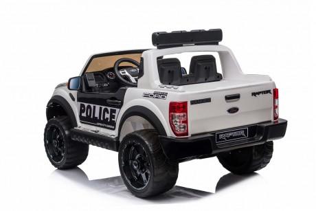 Licensed Ford Ranger Police RAPTOR Painted White 12Volt In Stock-8