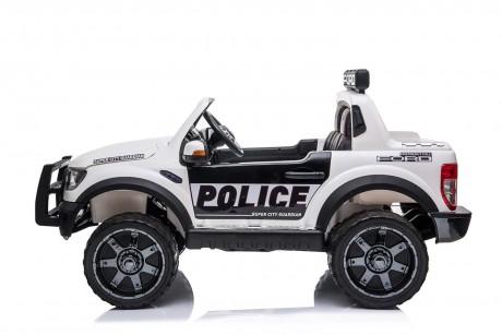 Licensed Ford Ranger Police RAPTOR Painted White 12Volt In Stock-11