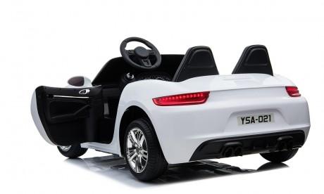 Large Car Porsche Replica White 24volt XXL 2 Seater