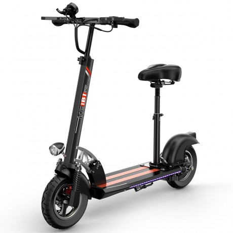2021 Electric Scooter with 400 Watt Brushless Motor-3