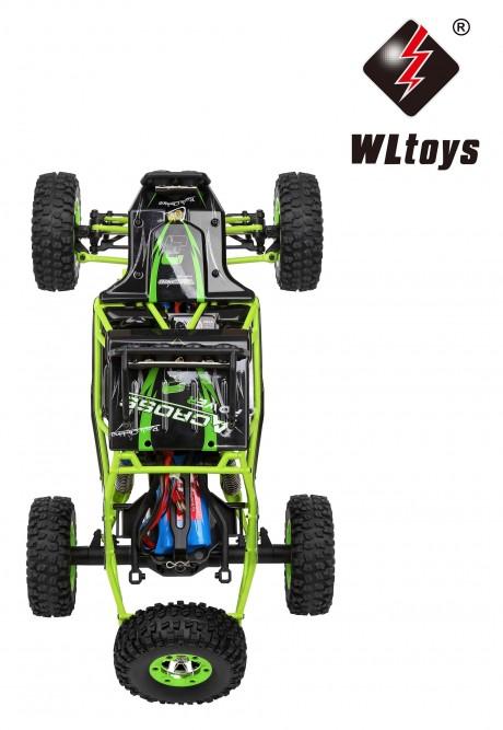WLtoy 12428 1:12  Rock Crawler 50km Splash Proof-5