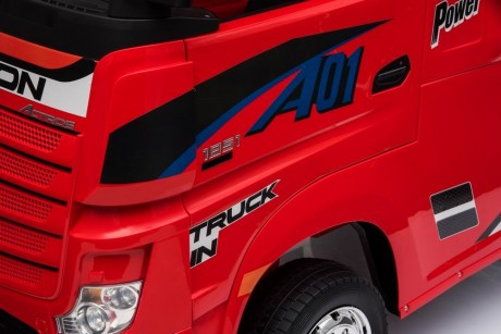 Pre Order RED Licensed MERCEDES-BENZ ACTROS TRUCK 1/12/19-11
