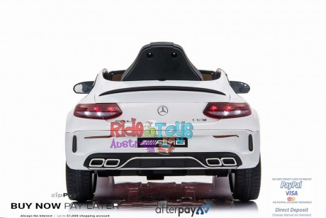 Pre-Order  Licensed Mercedes C63 AMG White ETA 20/12/2020-4