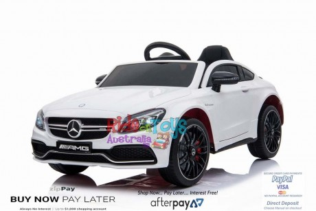 Pre-Order  Licensed Mercedes C63 AMG White ETA 20/12/2020-1