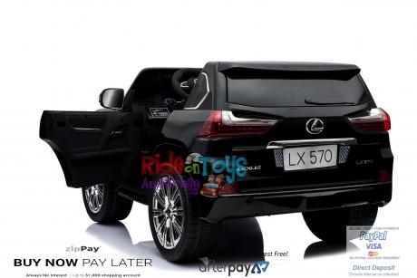 licensed Lexus LX- 570 Metallic Black -5