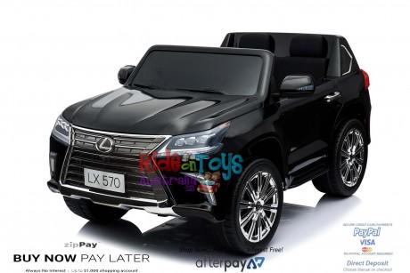 licensed Lexus LX- 570 Metallic Black -6