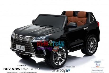 licensed Lexus LX- 570 Metallic Black -7