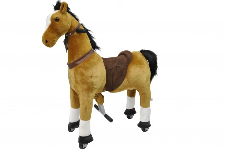 Ride On Horse  Large with Metal Frame  -5