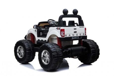 Licensed Ford Ranger Monster Truck White Ride on Kids Car