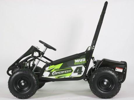 Pre-Order Black and Green  Electric Go Kart 48V with 1000w Brushless Motor ETA 07/12/2021 -3