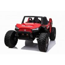 Pre-Order Red 2020 Dakar 24 Volt Dune Buggy 4WD Runs With 4 x 550w Motors