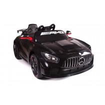 Painted Black Licensed Mercedes Benz GT4 AMG Special Sports Edition 2 x 35 Watt Motors