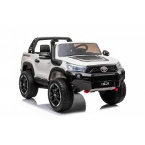 Pre- Order New 2021 Licensed White Toyota Hilux With 7 Inch MP4 Touch Screen