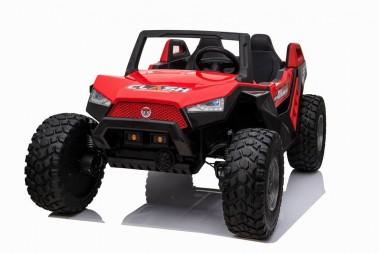 Pre-Order Red 2020 Dakar 24 Volt Dune Buggy 4WD Runs With 4 x 250w Motors ETA 10/07/2020