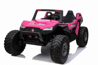 Pre Order Pink 2020 Dakar 24 Volt Dune Buggy 4WD Runs With 4 x 250w Motors ETA 10/07/2020