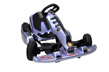 New Blue Electric Go Kart with Lamborghini Stickers 54 Volt with 2 x 350 Watt motors