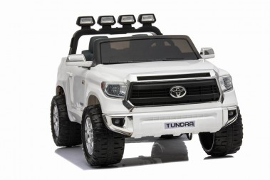 White 24 Volt Toyota Tundra Kids Electric Ride On Toy Car Adelaide