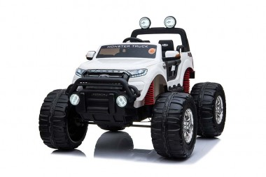 Licensed-Ford-Ranger-Monster Truck-Monster Jam-KIds-Ride-On-Toy-Car-12Volt-24Volt-Parent-Remote-Touch Screen-4 motors-Shipping—Postage-White-Adelaide-South Australia-SA