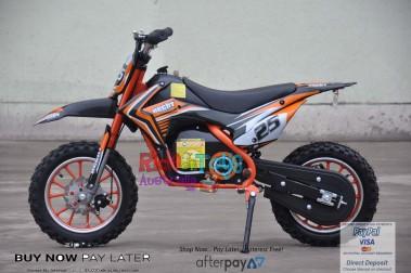 Pre Order Orange Electric Dirt Bike 36V 500 Watt Motor 26/11/2018