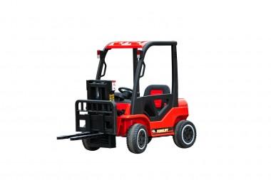 New 12 Volt Forklift Red With 2 x 35 Watt Motors In Stock