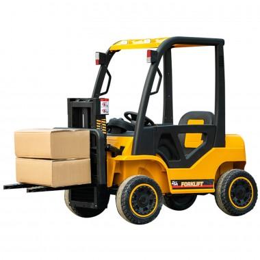 New 12 Volt Forklift Yellow With 2 x 35 Watt Motors In Stock