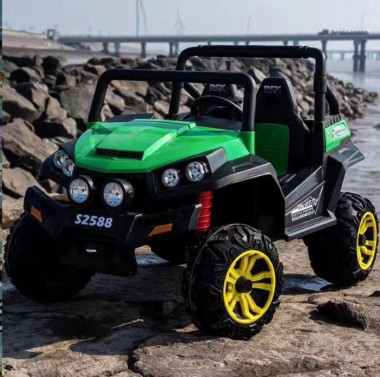 Beach Buggy Green 24 Volt and 125W Motors In Stock