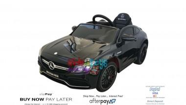Pre Order New Licensed Mercedes C63 AMG Painted Black 5/12/18
