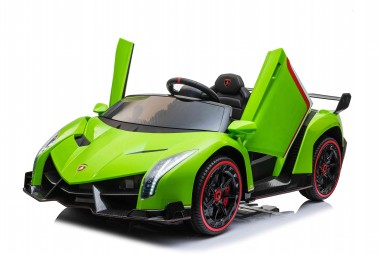 New Lamborghini Veneno 2 Seater Painted Metallic Green