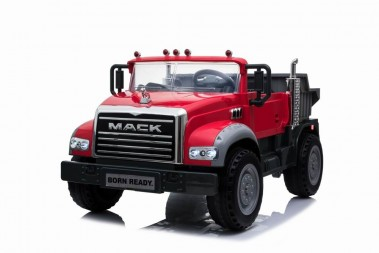 New Mack Dump Truck Red with 2 x 45 Watt motors