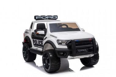 Licensed Ford Ranger Police RAPTOR Painted White 12Volt In Stock