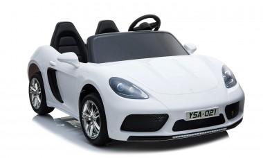 Custom - Order Large Car Porsche Replica White 24volt XXL 2 Seater