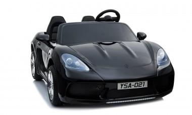 Custom - Order Large Car Porsche Replica Painted Black 24volt XXL 2 Seater