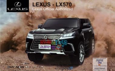 licensed Lexus LX- 570 Metallic Black