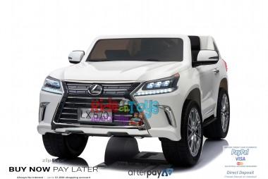 licensed Lexus LX- 570 White In Stock