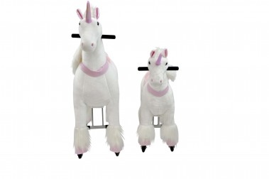 Ride On Unicorn Small with Metal Frame