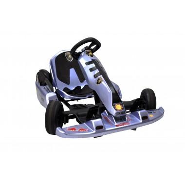New Blue Electric Go Kart with Lamborghini Stickers 54 Volt with 2 x 350 Watt motors