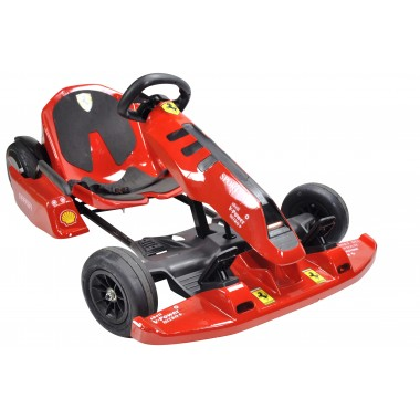 New Red Electric Go Kart with Ferrari Stickers 54 Volt with 2 x 350 Watt motors