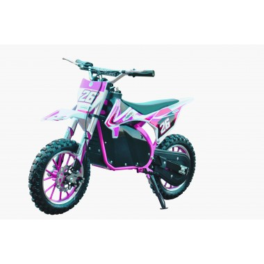 Pink Electric Dirt Bike 36V 500 Watt Motor