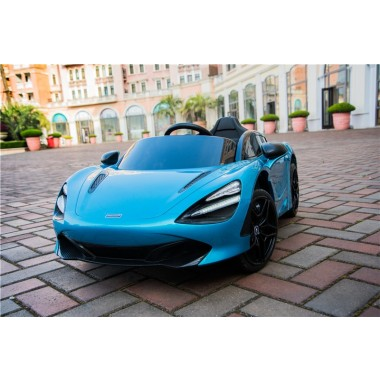 Pre-Order Licensed Mclaren 720S Painted Metallic Belize Blue12 Volt 31/09/19