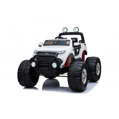Licensed Ford Ranger Monster Truck White Ride on Kids Car